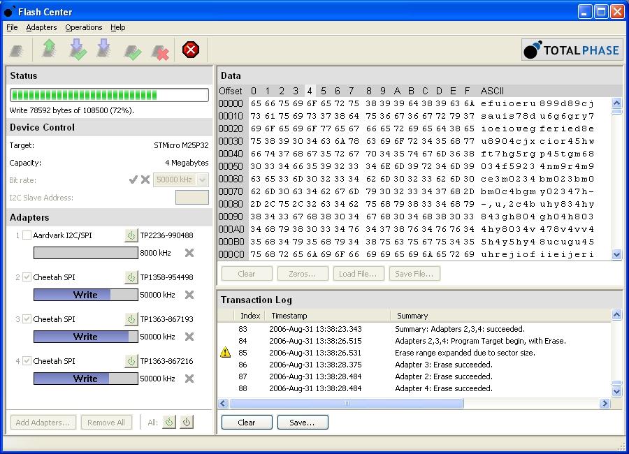 Spi flash programmer software download