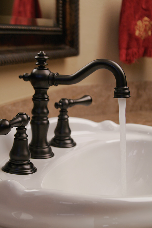 Fontaine Monaco Bathroom Sink FaucetFontaine Monaco Widespread Bathroom Faucet in Oil Rubbed Bronze is superior in style and quality to Delta Victorian and ...