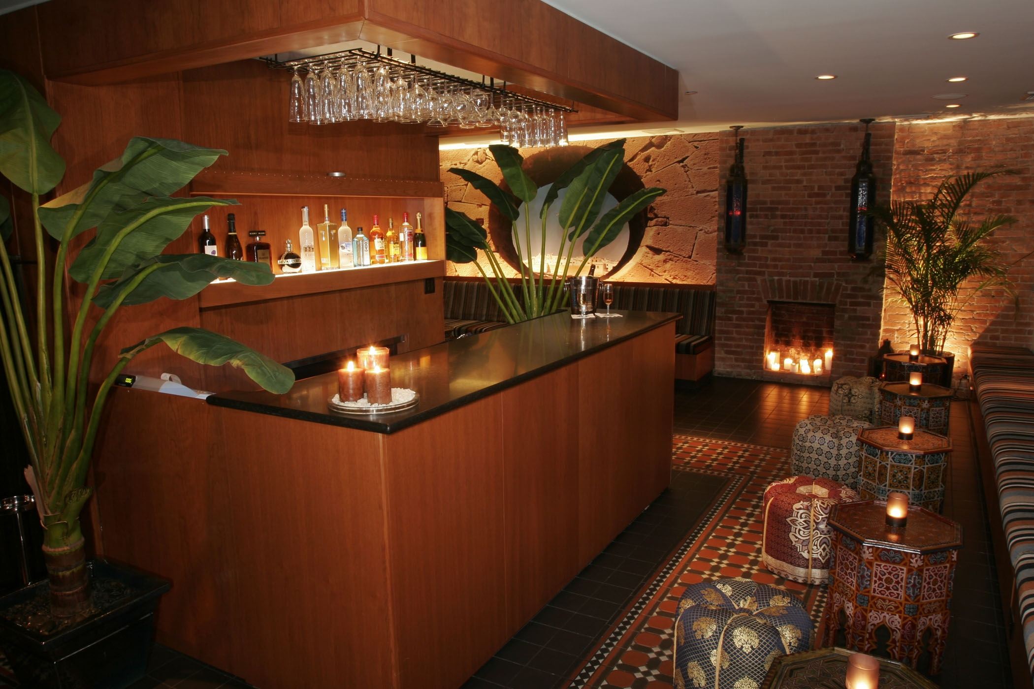 Kazbarkazbar A New Bar Lounge Serving Specialty Tails And Tapas Opens At The Marrakech Hotel Nyc Photo Business Wire