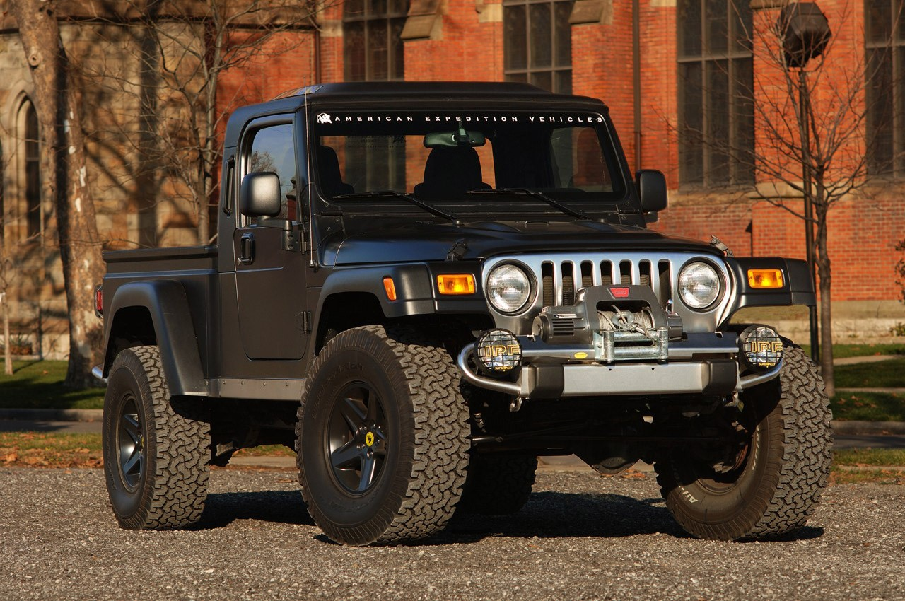 New Aftermarket Firm Streetcar Usa Launches Establishes Key Brute Jeep Wrangler Holy Sha Spiritual Moment For Before It Hits The Streets Of Detroit Pickup Conversion Tj Wranglers Will Be Available In January