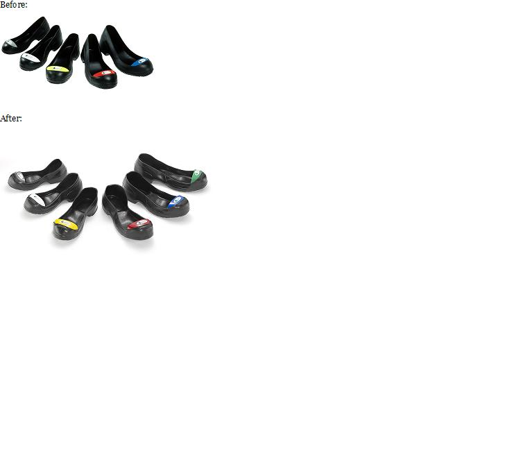 0cd1d3e8608 Wilkuro Safety Toes Upgrades to PVC Overshoe, Trademark Color-coded ...
