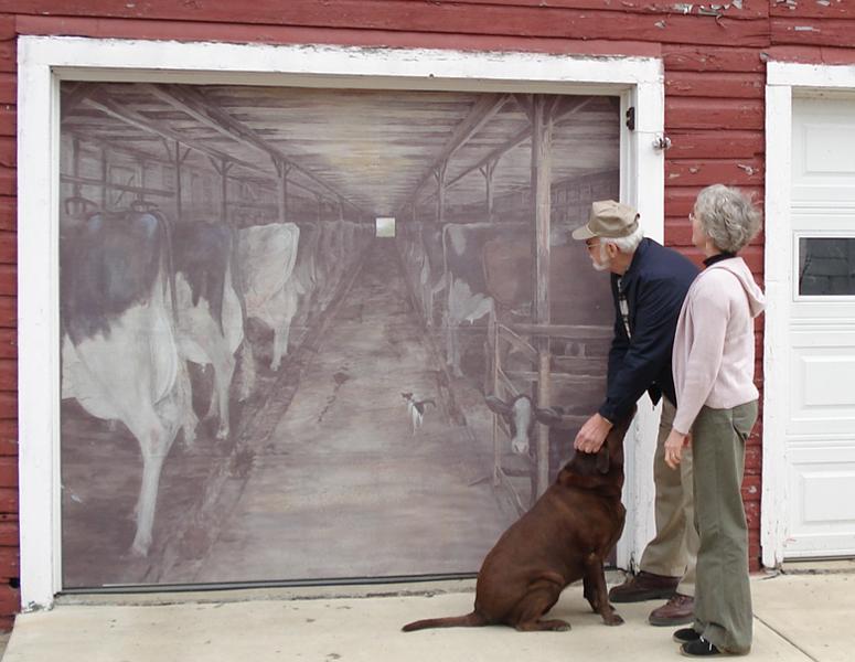 Garage Door Is Dunkirk Company S Canvas