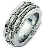 Men's Cable Ring