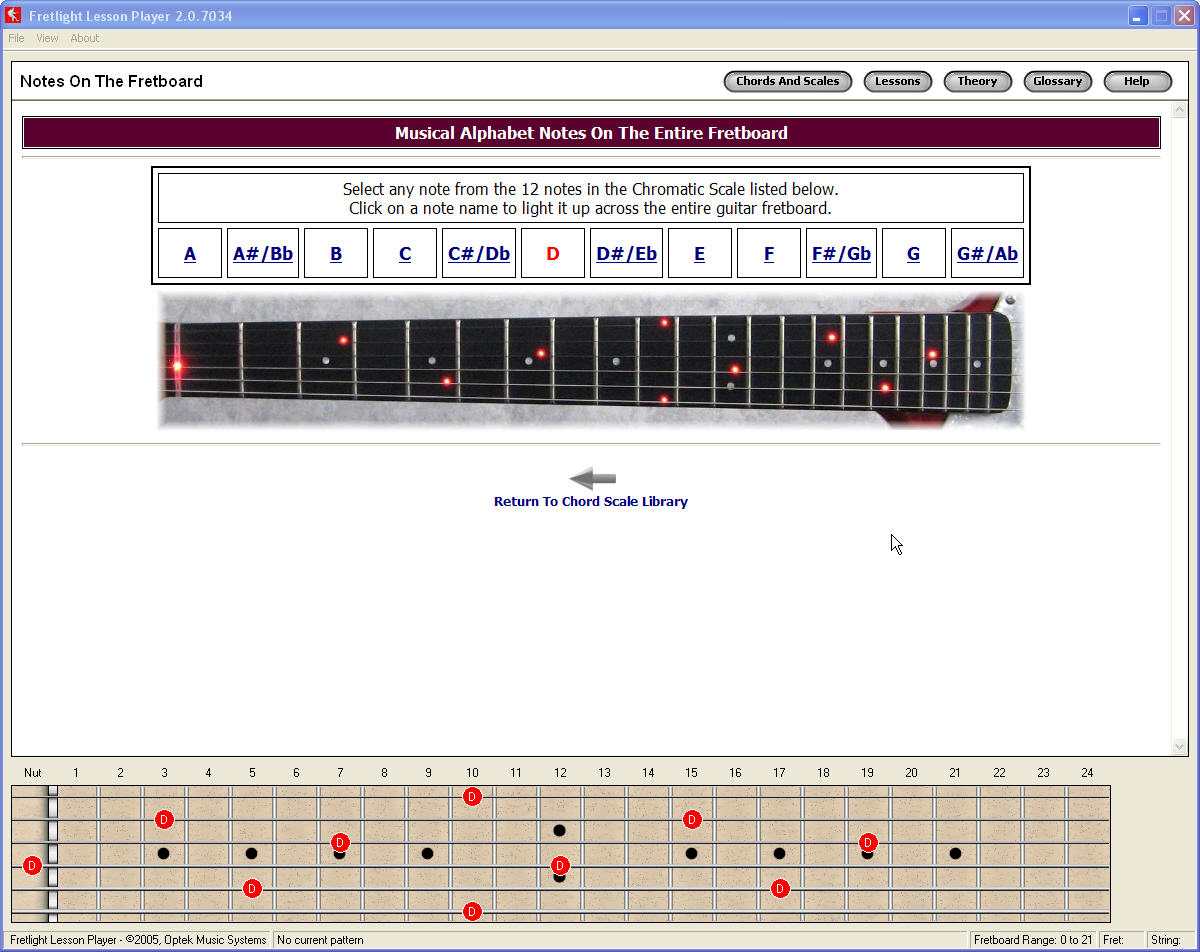 Free Guitar Chord Scale Library Debuts
