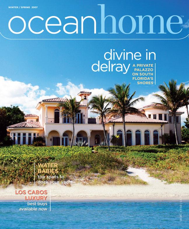 Cover Of Ocean Home Magazine (Winter/Spring 2007)
