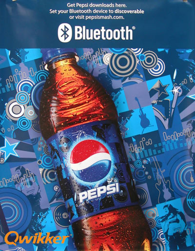 Pepsi Delivers Largest U S  Bluetooth Campaign to Date