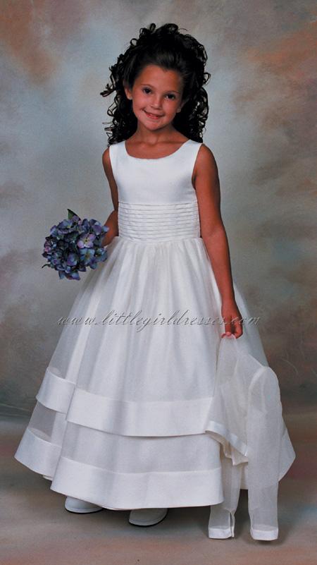 Record Communion Dress, Flower Girl Dress Sales for Little Girl ...