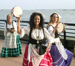 Cultural Dancers perform at the Ellis Island Event