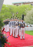 Red Carpet Honor with military reception