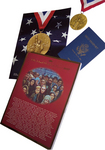 NECO VIP passport, medal and other mementos