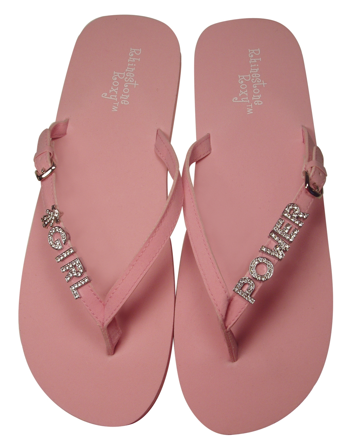 218825048 Show off the girly side of you!These pink flips are great for your favorite  group of girls.