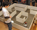 Tony Pratkanis, 13, builds robots that consistently beat those built by 40 year old engineeers.