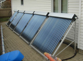 Solar comes to the rescue of pool owners - Solar hot water heater for swimming pool ...