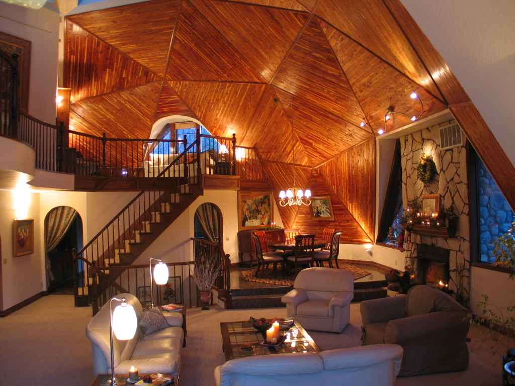 Photo of the Big Bear Dome Home