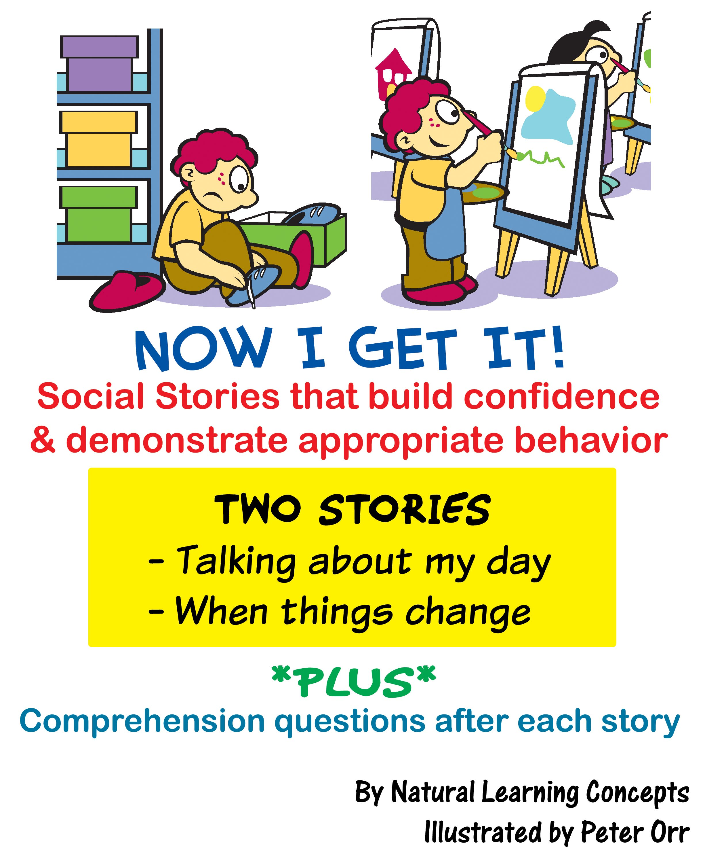New Social Storybooks by NLC Help Autism Spectrum Kids Get Ready