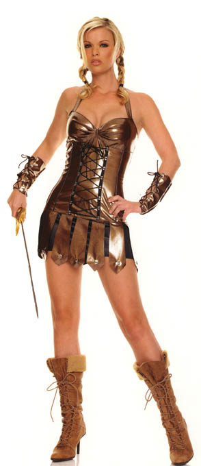 ... Costume Gladiator halloween Costume  sc 1 st  PR Web & Pinup Girl Clothing Reveals 2007 Sexy Halloween Costumes