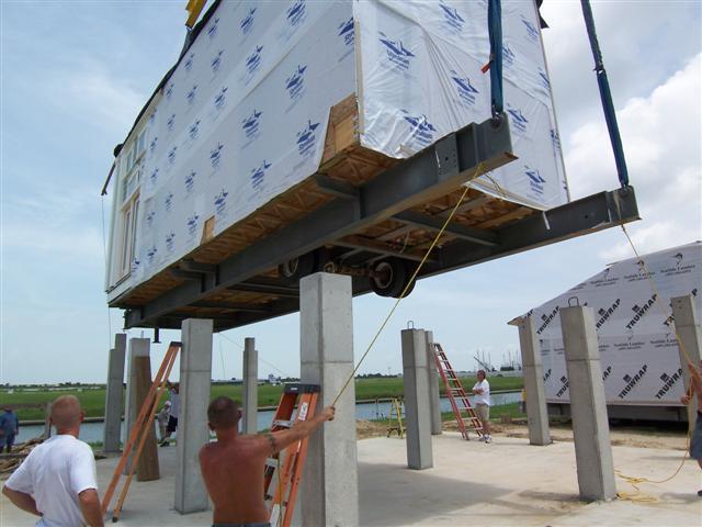 Hurricane resistant homes on the texas gulf coast for Coastal home builders texas