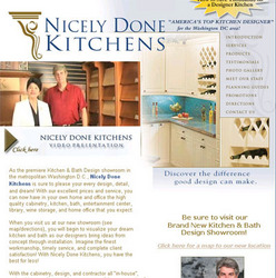 Nicely Done Kitchens Announces Addition Of Complete Project Management To  Line Of Kitchen And Bath Remodeling Services