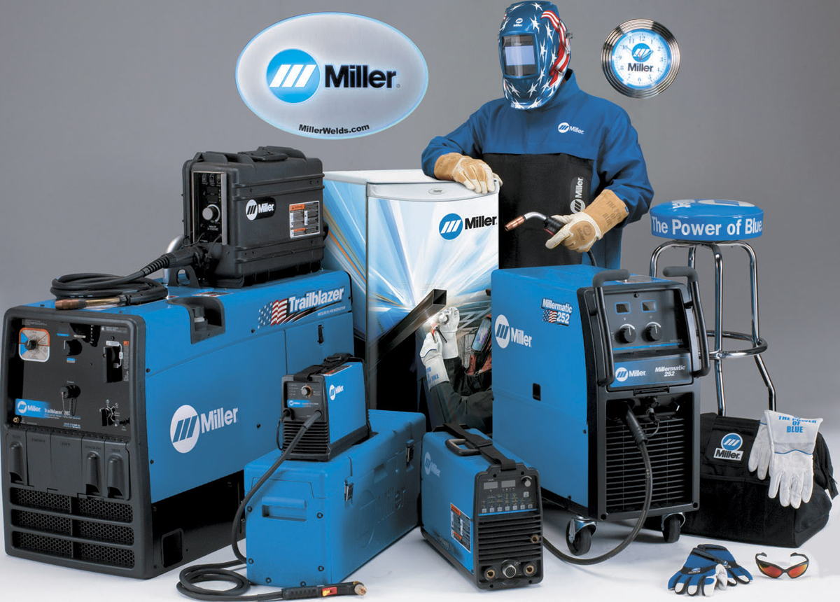 Miller To Give Away The Ultimate Weldshop Valued At More