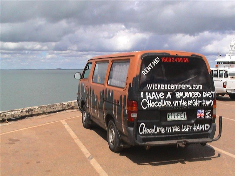 Notorious Campervan Hire Company Declares W A R  on the East Coast