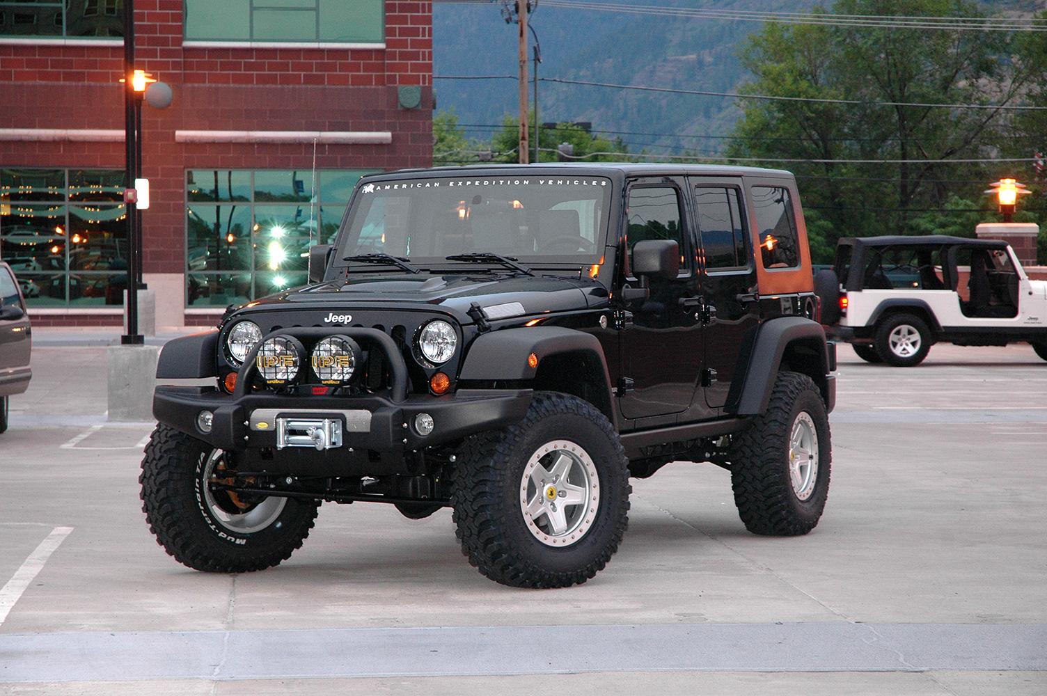 Jeep Wrangler Hemi >> AEV Installs 6.4L HEMI on Jeep JK Wrangler; Vehicle to ...