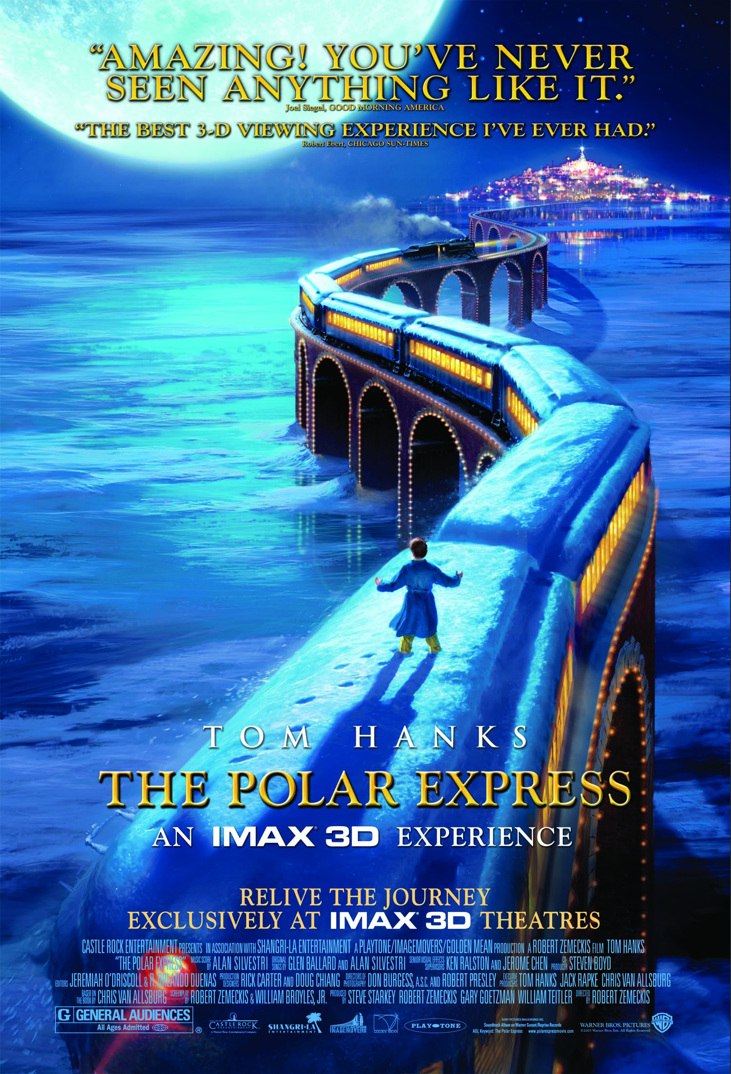 Polar Express 3D Will Be Part Of Holiday Line-Up At IMAX
