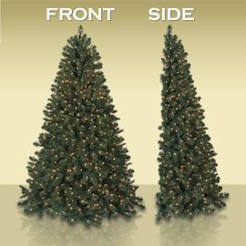 Balsam Hill S Manhattan Flatback Artificial Christmas Tree