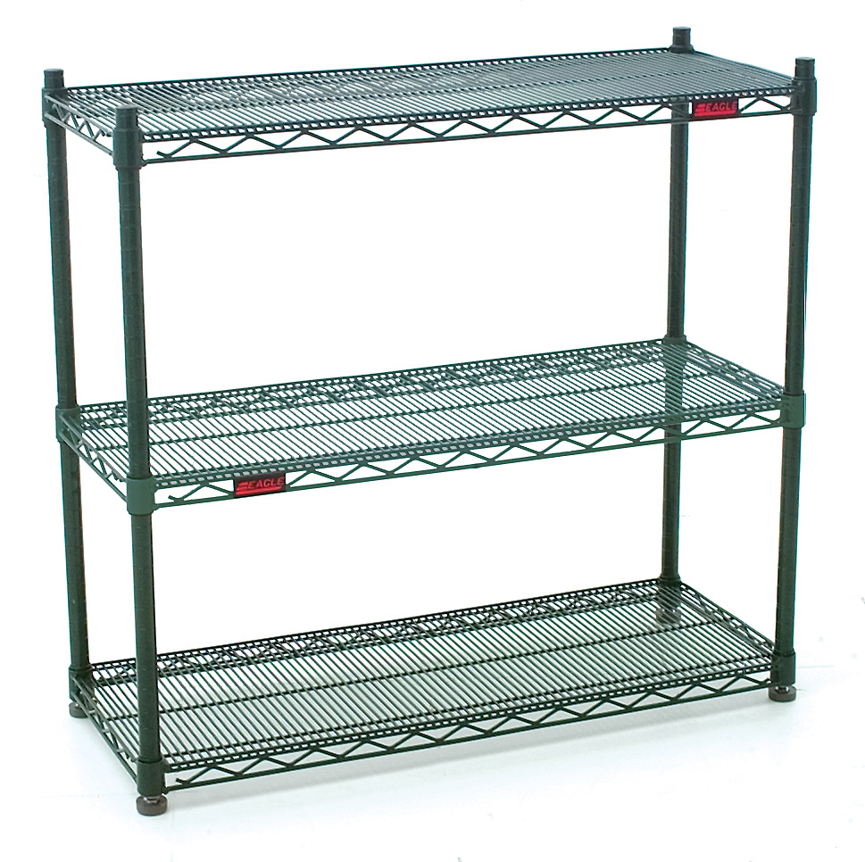 Eagle Introduces Double Mat Wire Shelving For Easier More