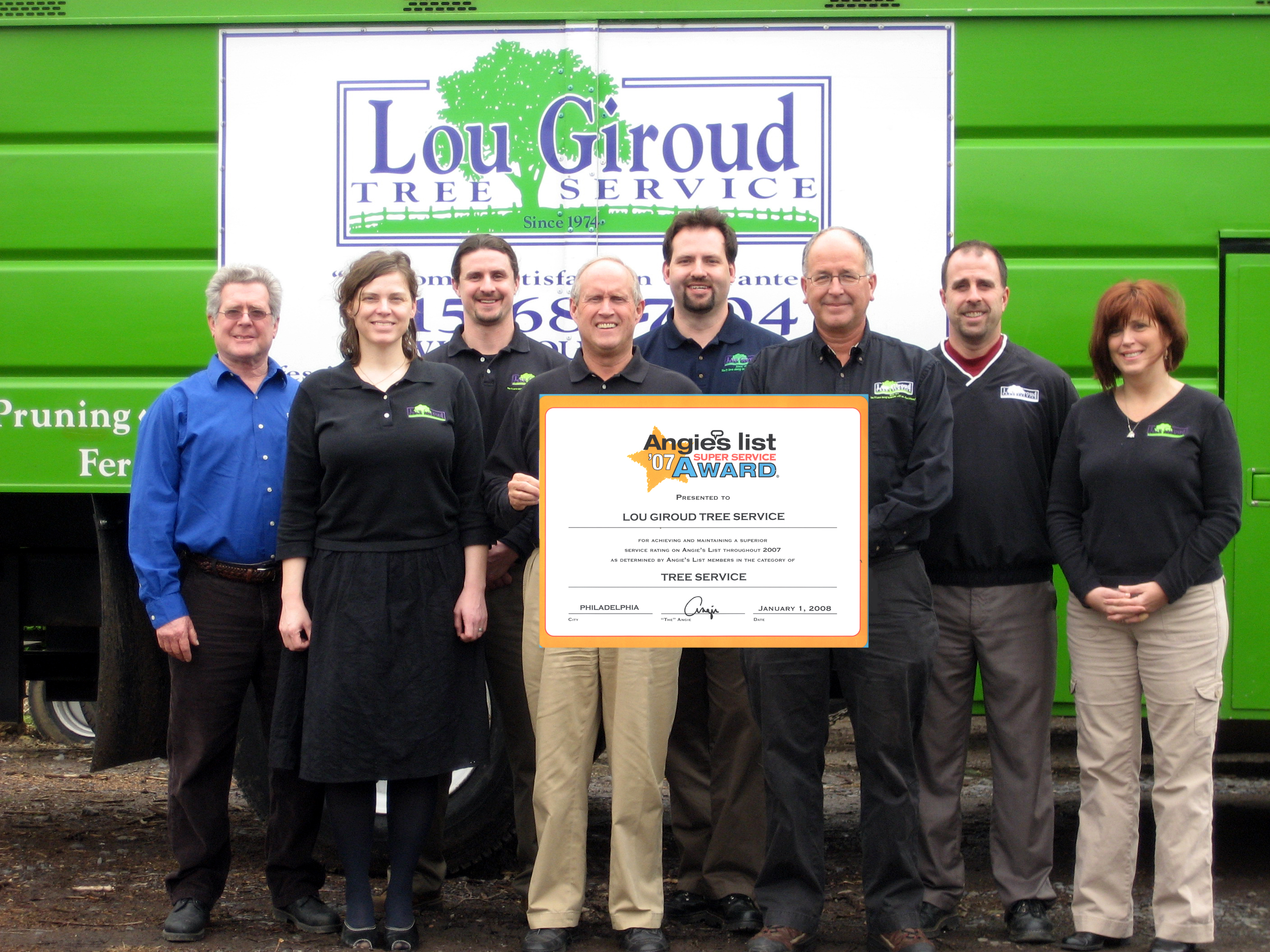Lou Giroud Tree Service Earns Third Consecutive Angie's List Super Service  Award: Award Reflects Giroud's Consistently High Level of Customer  Satisfaction