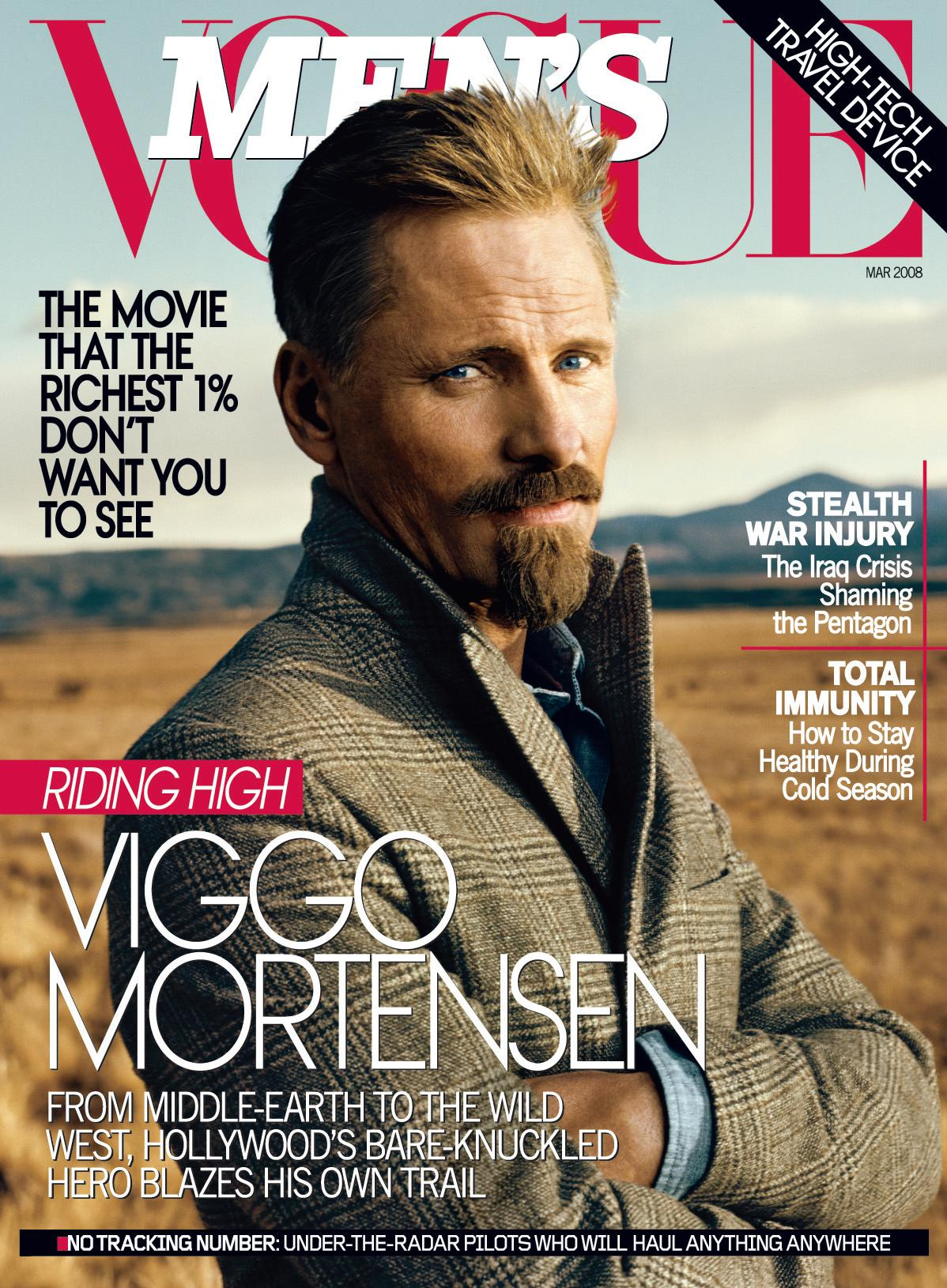 Vogue S Covers Gigi Hadid: Viggo Mortensen Compares The Oscars To Politics In The