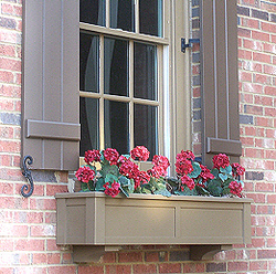 The Right Angle Atlanta Pvc Window Boxes And Exterior