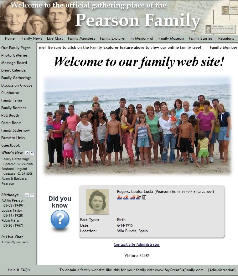 mygreatbigfamily com launches enhanced social networking