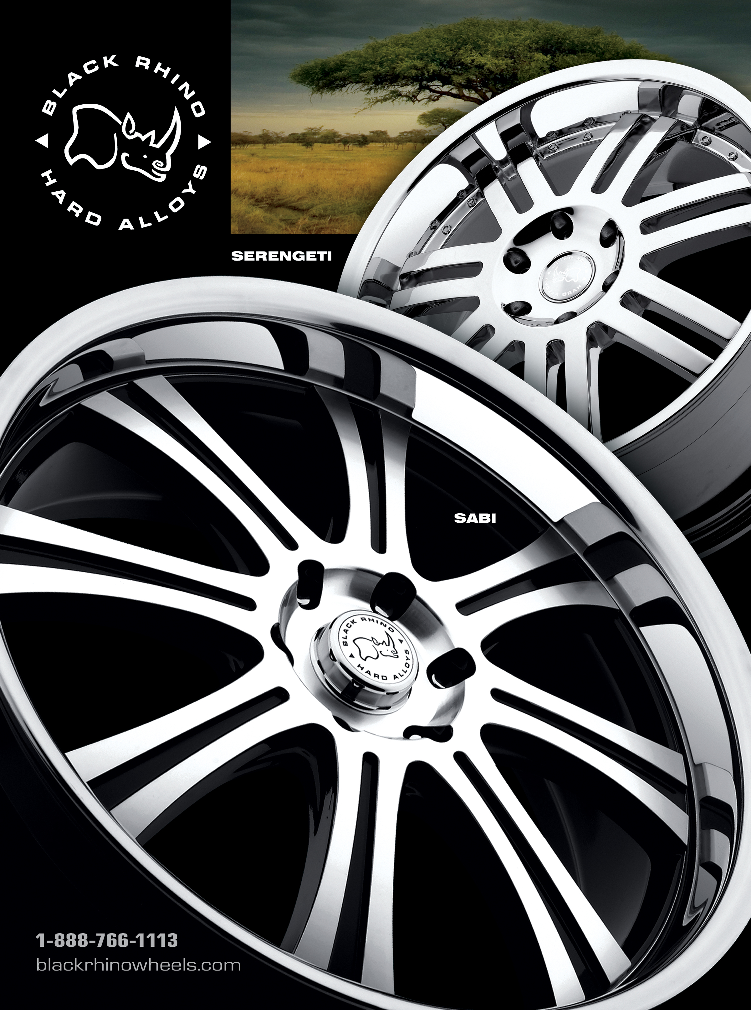Black Rhino Introduces Sabi Alloy Wheel for Trucks and SUVs