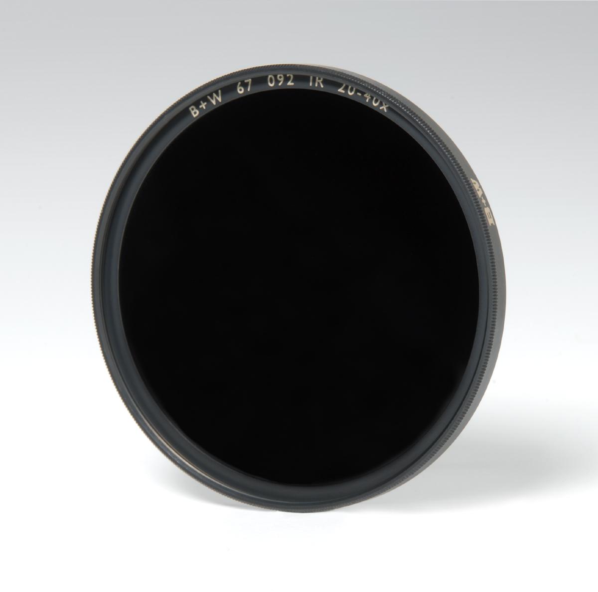 B+W 55mm Infrared Black 093
