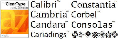 Ascender Corp  Offers Microsoft Office 2008 for Mac Fonts