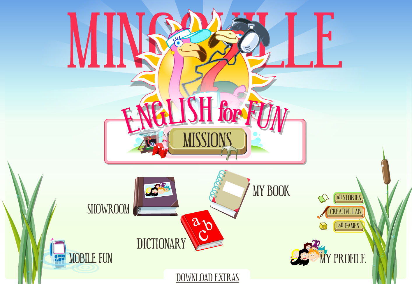 Mingoville Lets Kids Learn English The Fun Way For Free On