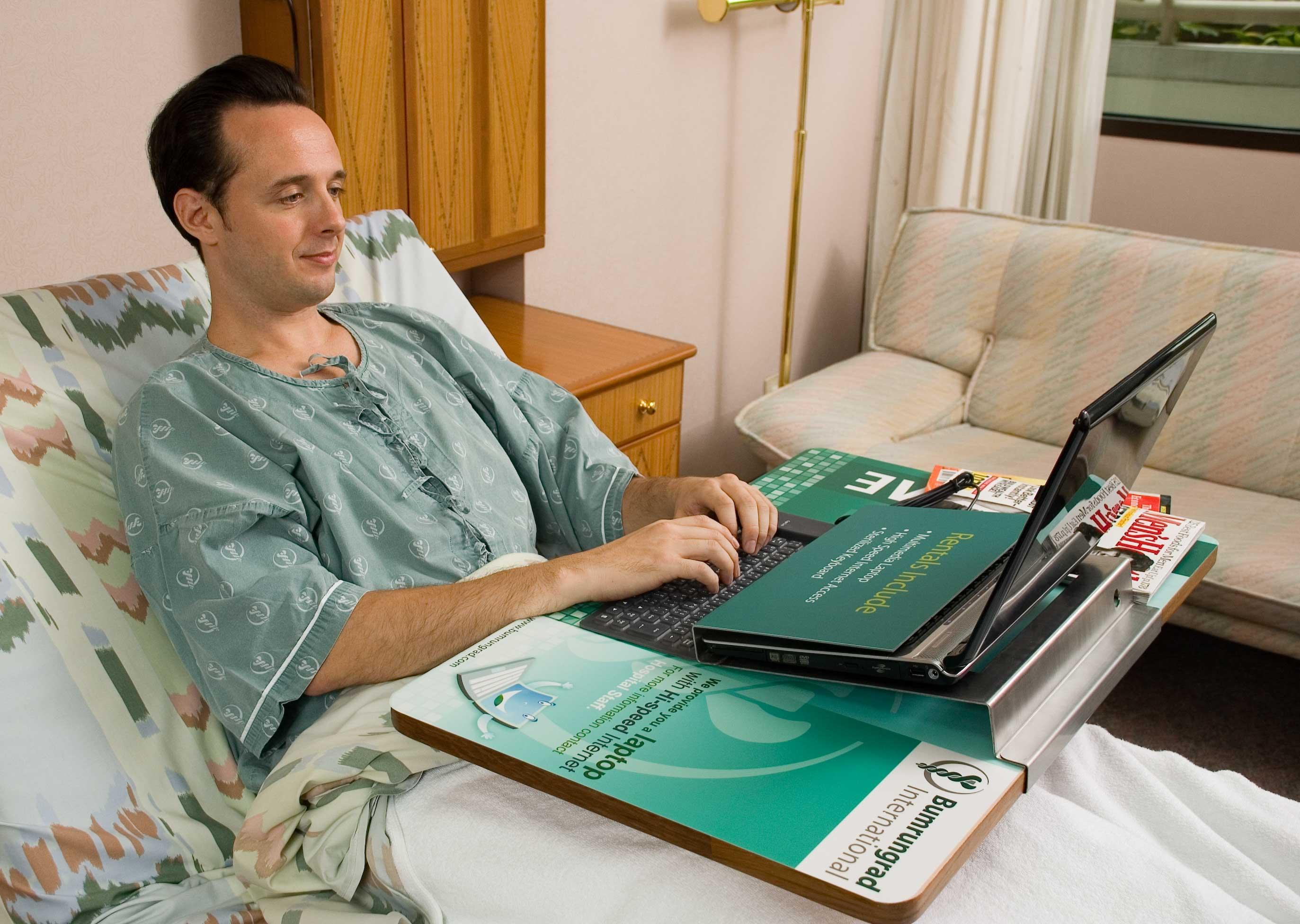 Thai Hospital, Bumrungrad International, Provides Laptops ...