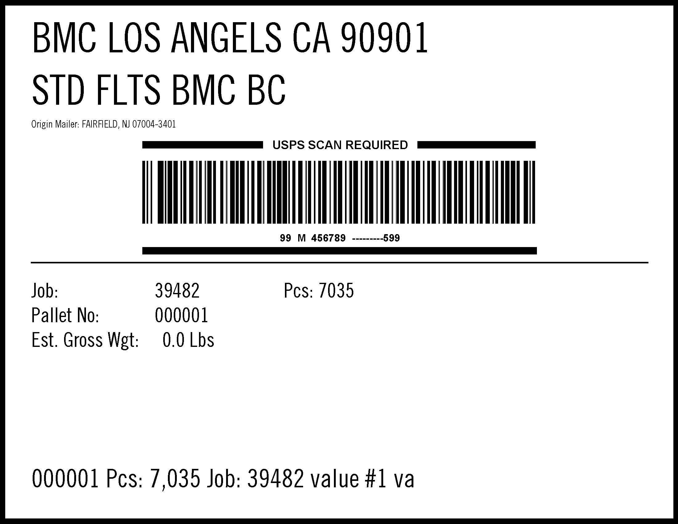 window book provides intelligent mail u00ae barcodes for container labels and placards