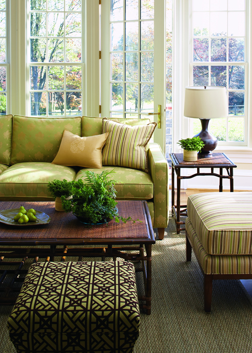 This Is A No Worry Zone Because All The Furniture Upholstered In Fabrics Of Sunbrella R From Calico Corners
