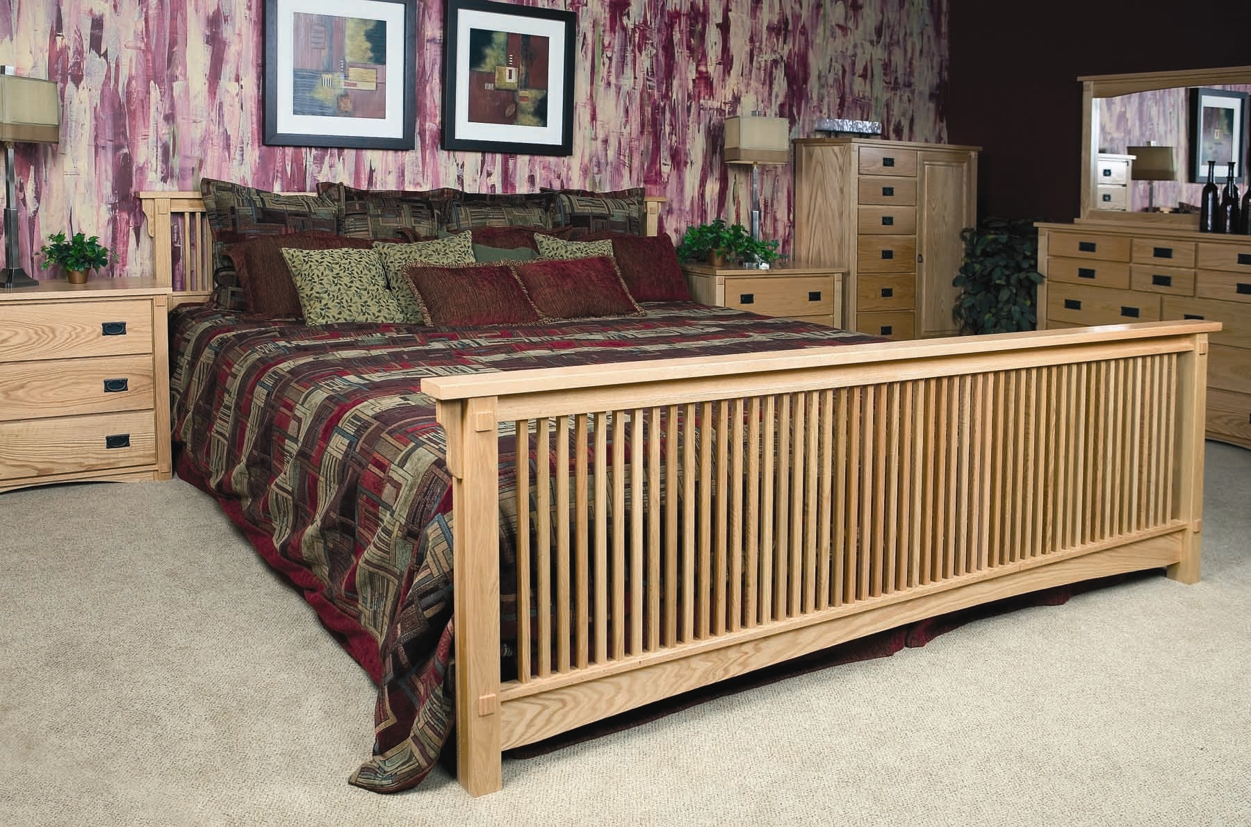Extra Large King Size Bed