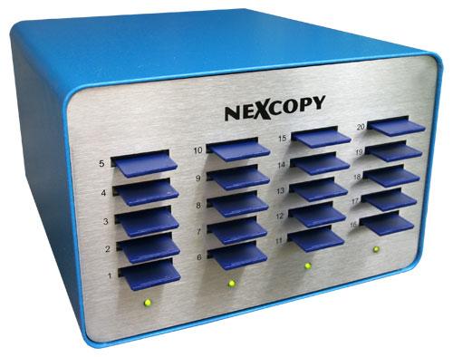 SD Duplicator 20 Target with mini SD /& microSD Adaptors by Nexcopy