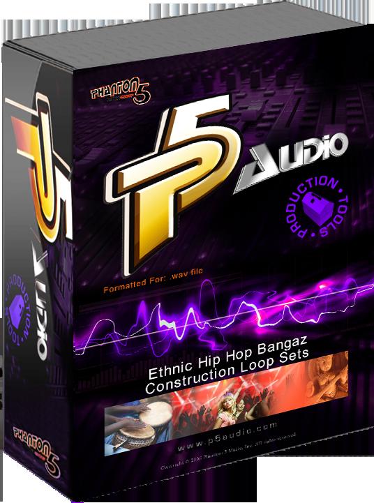 P5 Audio Announces New Ethnic Hip Hop Bangaz Construction