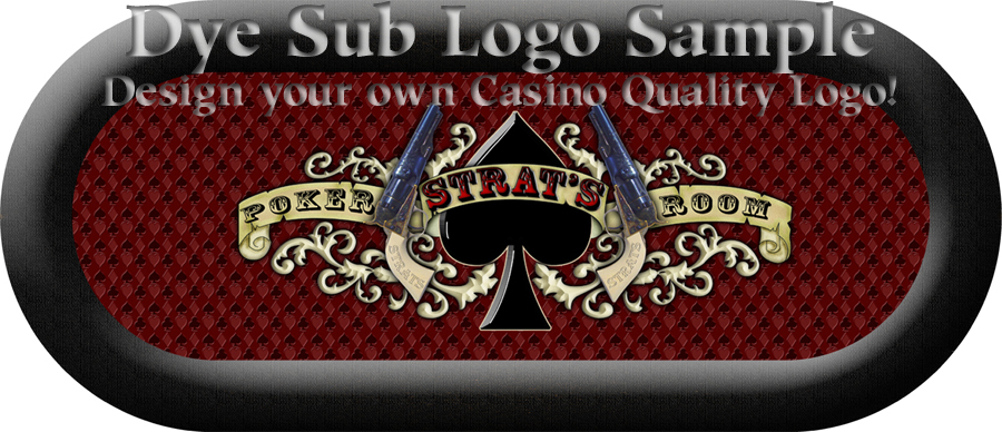 Custom Poker Table Dye SublimationDye Sublimation