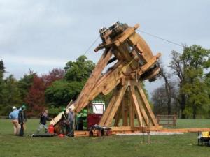 Carpenter Oak & Woodland: Full Size Roman Siege Catapult ...