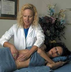 Belinda Wurn, PT treats a patient with the Wurn Technique