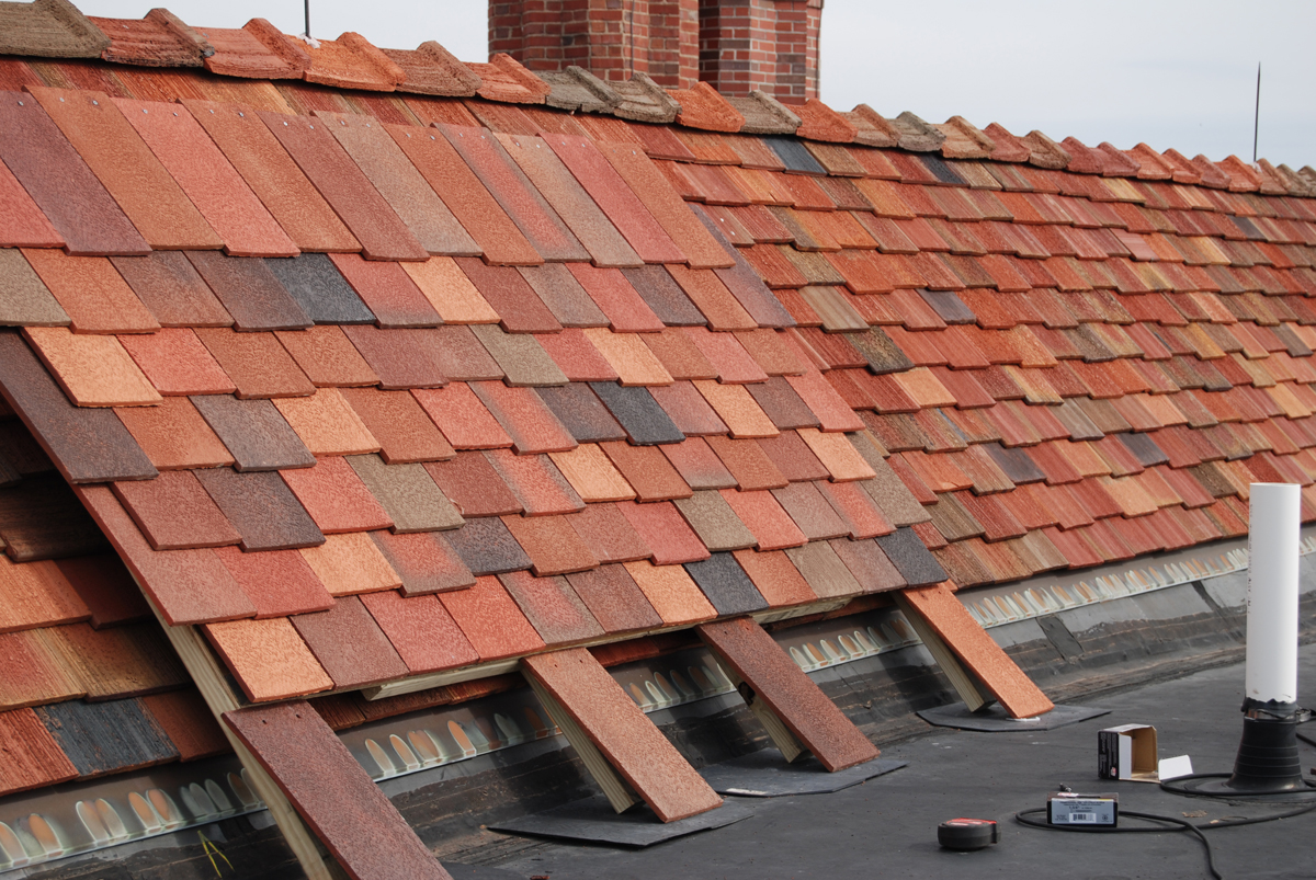 Ludowici Roof Tile And Ktm Roofing Complete Historic Roof