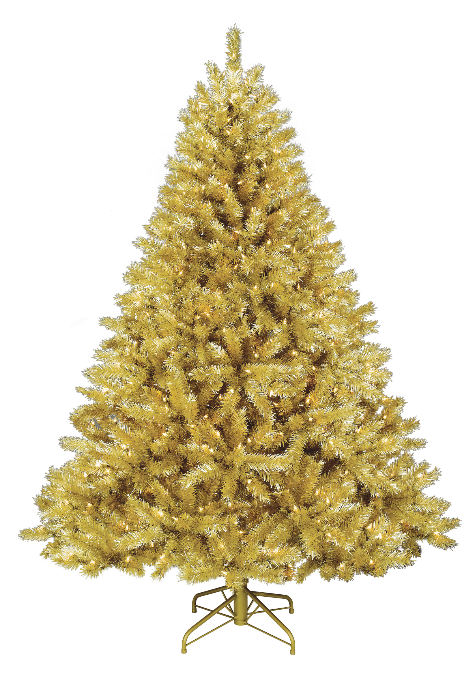 Gold Christmas TreeTreetopias Tree