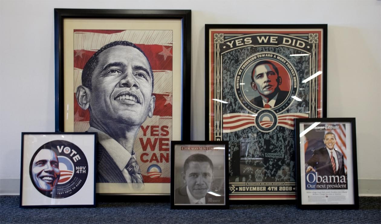 Framing Obama\' A Mini Economic Boom for Chicago Small Business ...
