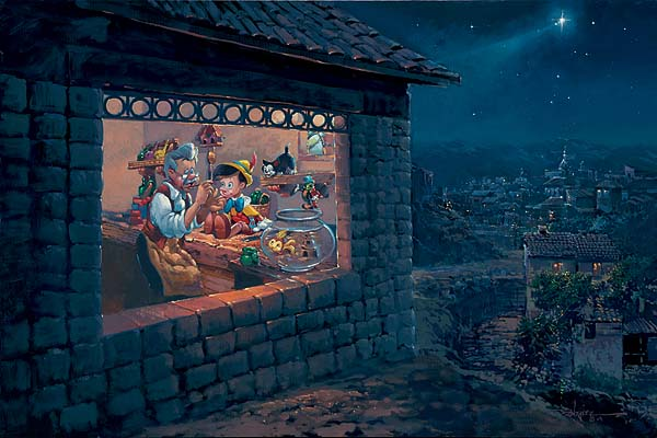 Disney Fine Art Introduces Artist Rodel Gonzales