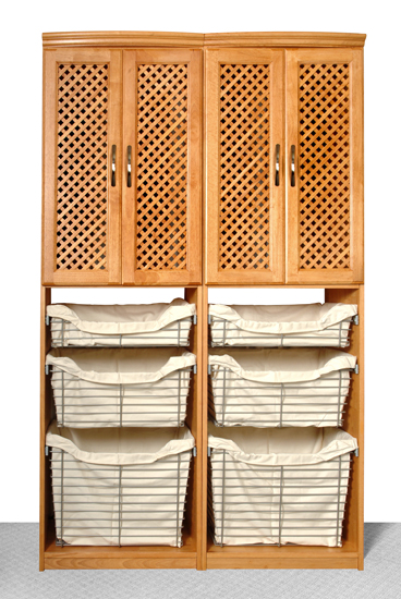 ... Closet Organizers   Solid Wood   Maple Spice ...